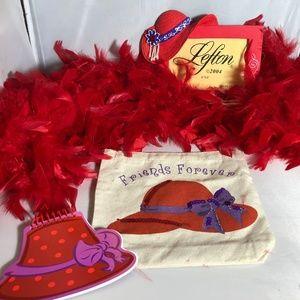 Handbags - Red Hat Society Grab Bag Photo Frame Notepad Boa